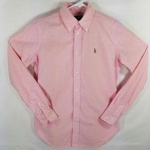 Ralph Lauren Women's Size 4 Super Slim Fit Pink ox
